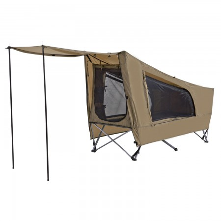 KPEBATI ΠΤΥΣΣΟΜΕΝΟ MONΟ ΜΕ ΣΚΗΝΗ OZTRAIL EASY FOLD STRETCHER TENT SINGLE