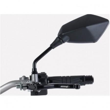 Καθρέπτες universal Chaft Retro μαύροι (σετ)