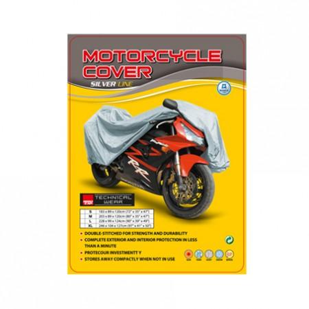Kάλυμμα μοτό Nordcap Cover moto  Silver Line size-XXL
