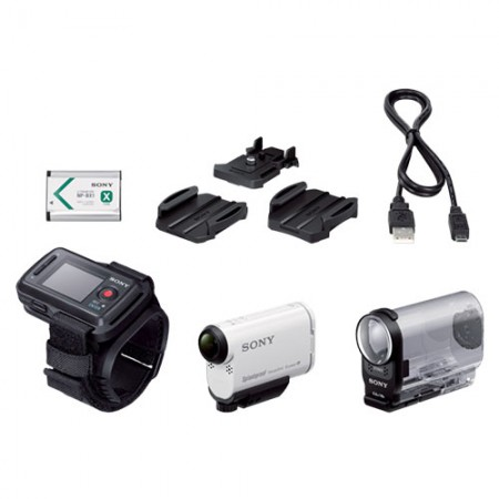 Sony HDR-AS200VR Action Cam (Remote Live View KIT)