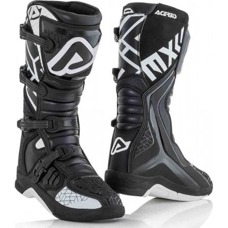 Μπότες Acerbis 22999.315 X-TEAM μαύρο-άσπρο