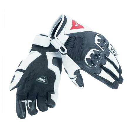 DAINESE MIG C2 καλοκαιρινά γάντια black/white/black