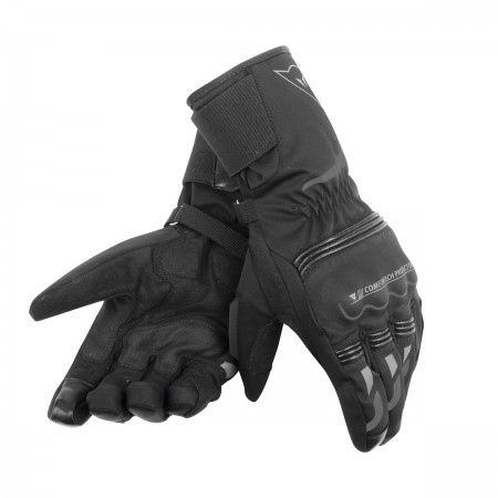 DAINESE TEMPEST UNISEX D-DRY® LONG GLOVES μαύρο