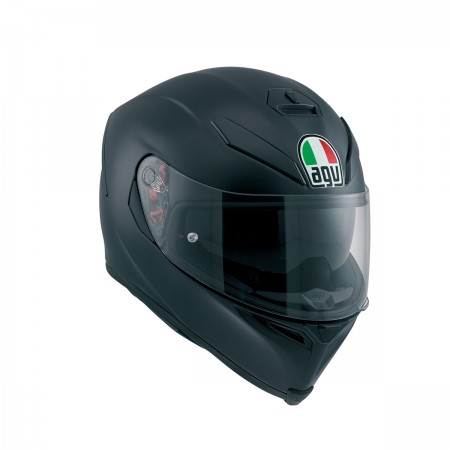 AGV K-5 S  E2205 SOLID PLK - MATT BLACK