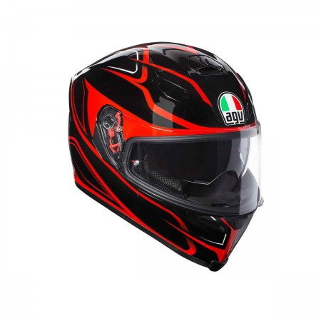 AGV K-5 S E2205 MULTI PLK - MAGNITUDE BLACK/RED
