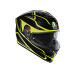 AGV K-5 S E2205 MULTI PLK - MAGNITUDE BLACK/YELLOW FL.
