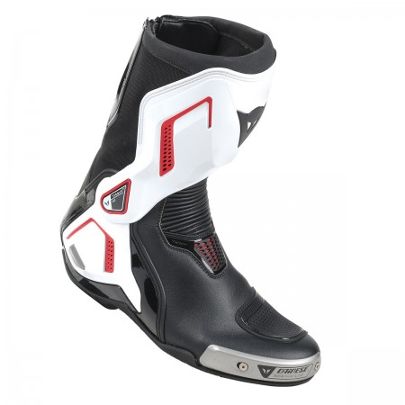 DAINESE TORQUE D1 OUT BOOTS black/white/lava-red