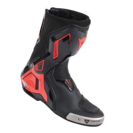 DAINESE TORQUE D1 OUT BOOTS black/fluo-red