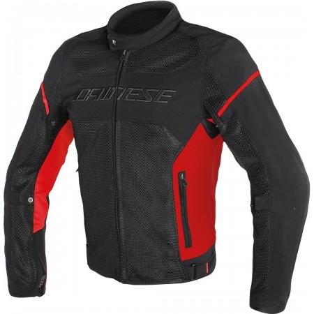 DAINESE AIR-FRAME D1 TEX καλοκαιρινό μπουφάν μαύρο/κόκκινο