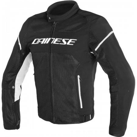 DAINESE AIR-FRAME D1 TEX καλοκαιρινό μπουφάν μαύρο/άσπρο